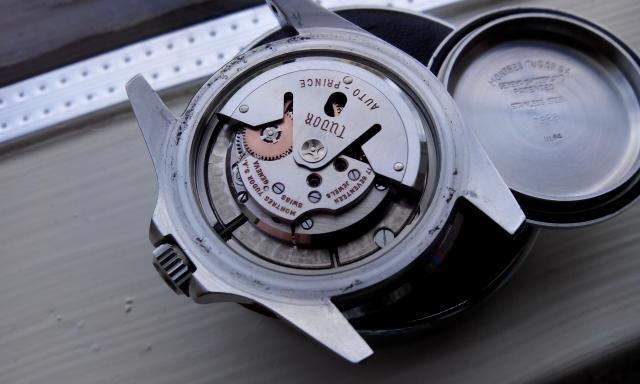 tudor watch movement
