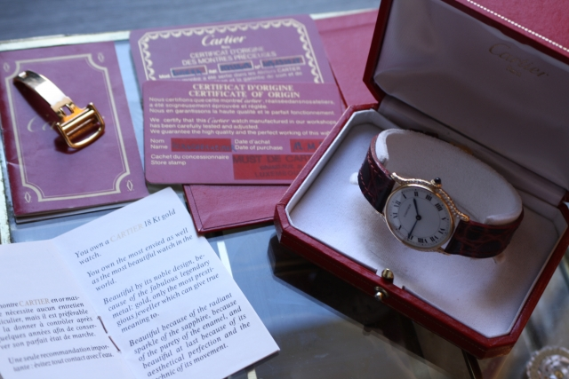 cartier lifetime warranty