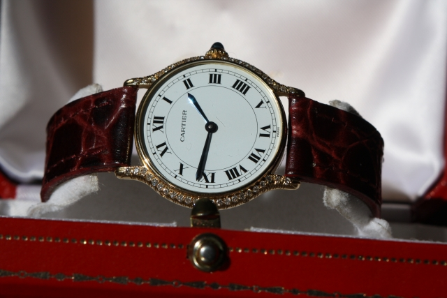 cartier vintage horloge