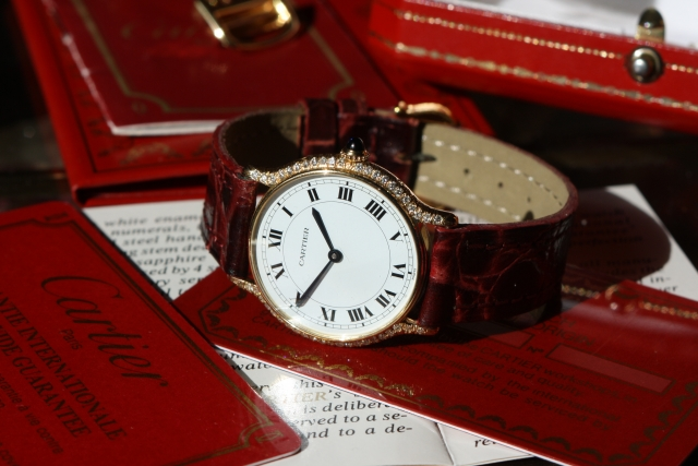 Cartier Paris ladies watch