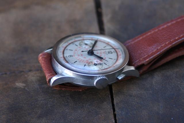 coin edge chronograph