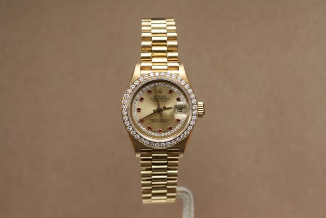 rolex factory diamond dial