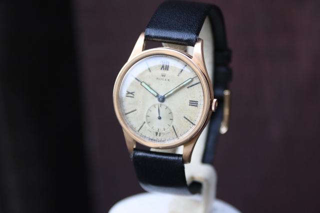Rolex double swiss dial