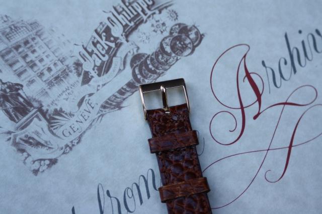patek rose tang buckle