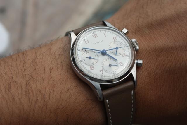 vintage chronograaf horloge