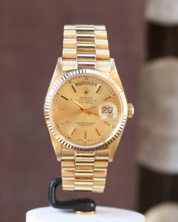 rolex day-date full set