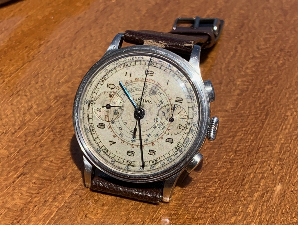 lemania 15 tl chronograaf