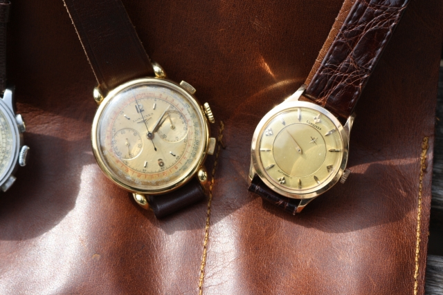 longines mystery dial watch