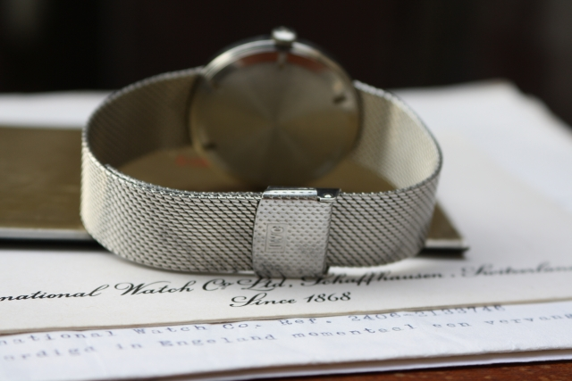 steel integrated bracelet