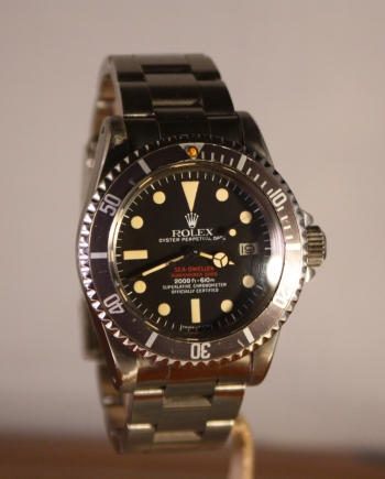 rolex sea dweller 1665 double