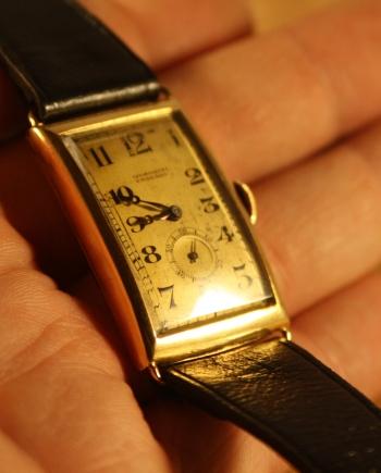 100 year old vintage Movado watch