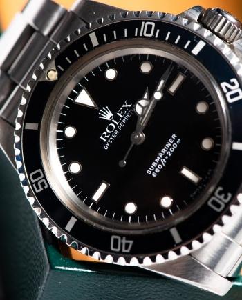 Rolex Submariner 5513 l serial
