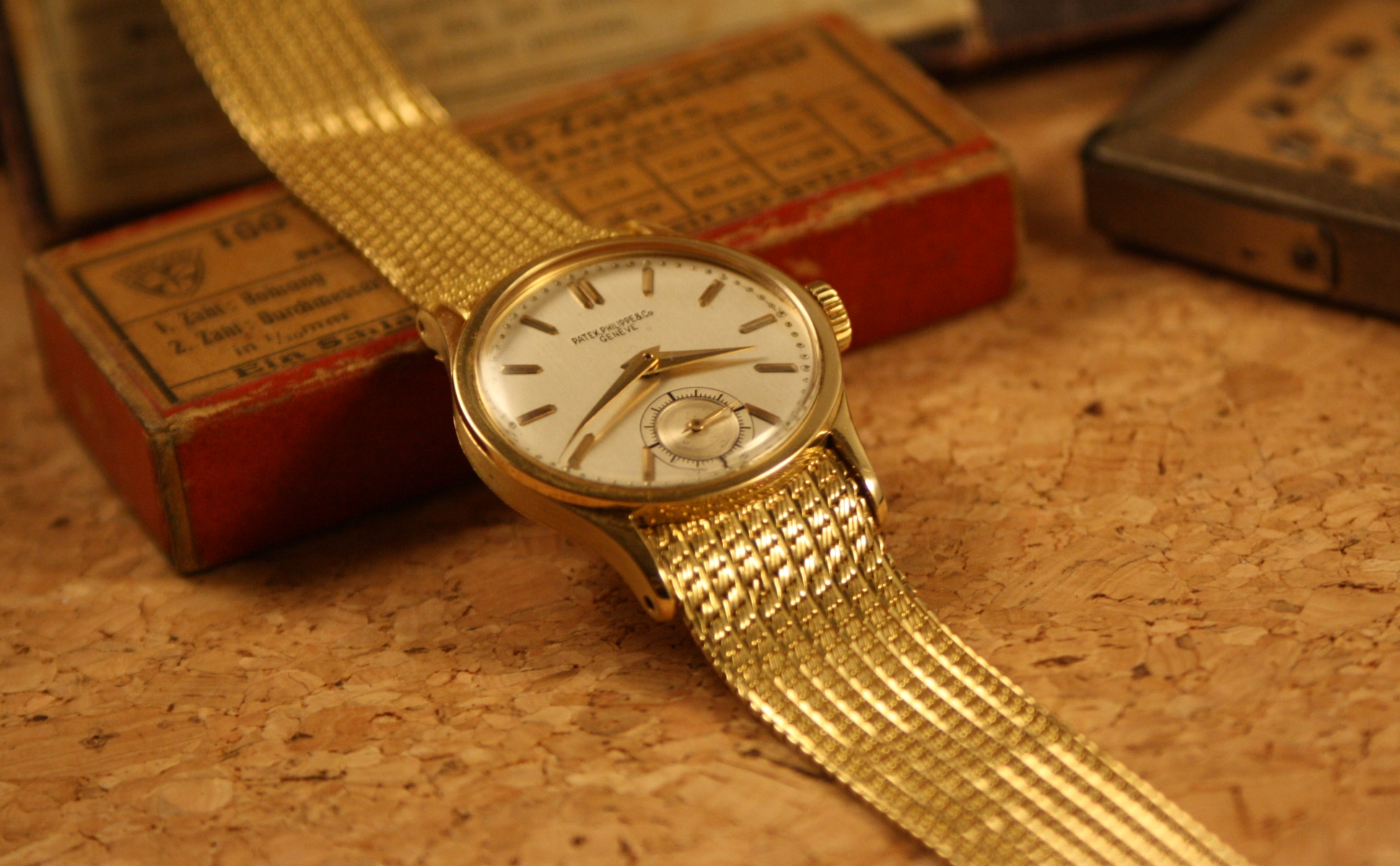 patek 96 gobelin signed bracelet