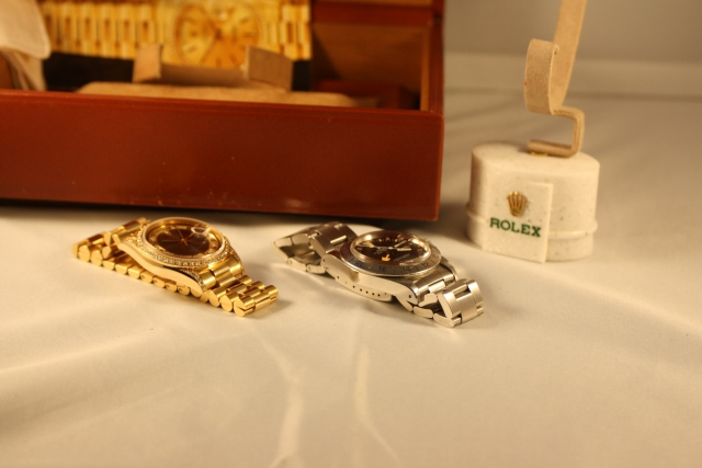 vintage diamond rolex