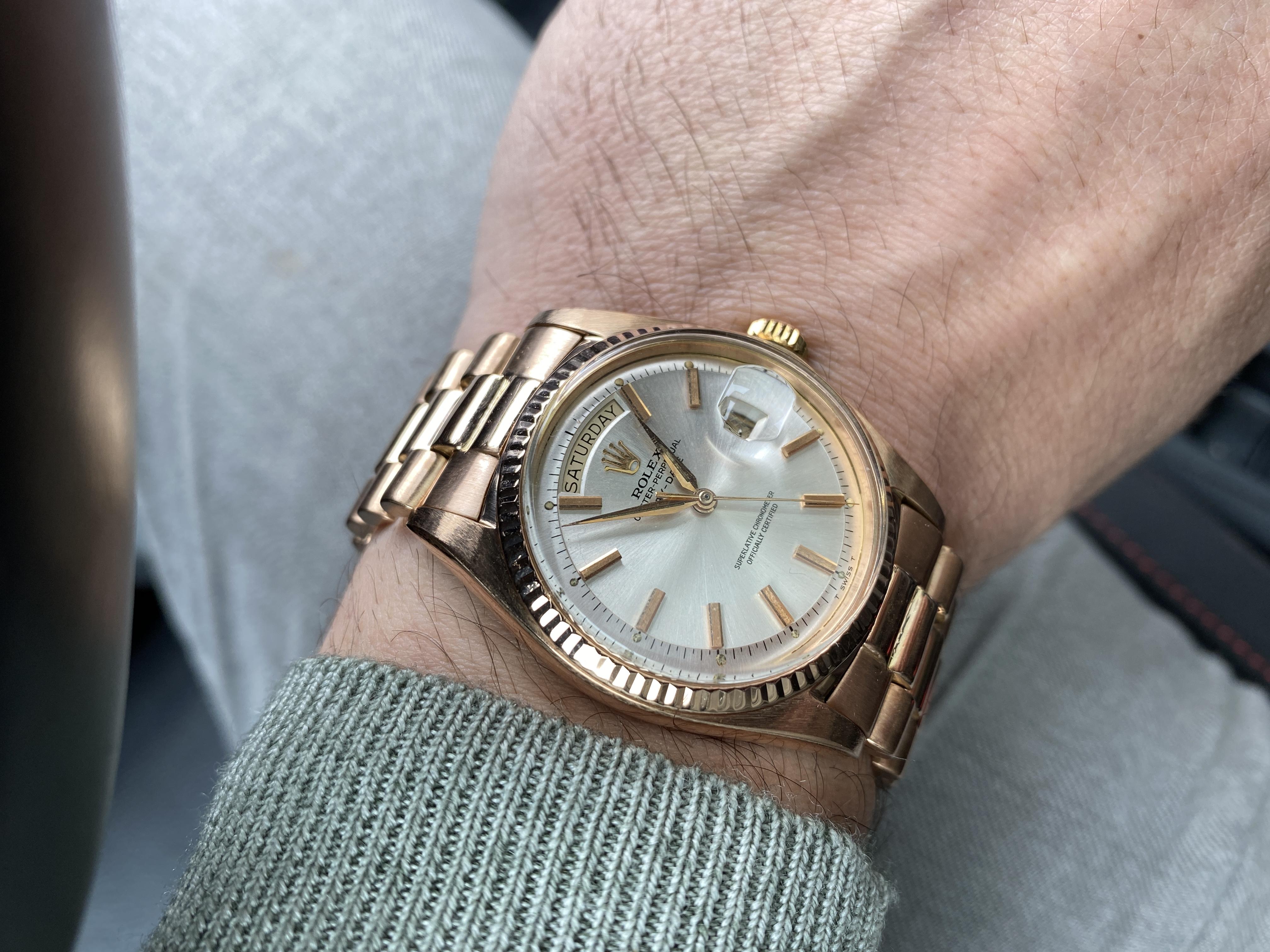 Rolex 1803 wristshot