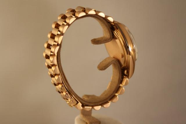 1803 pink gold Rolex