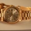 vintage Rolex pink gold