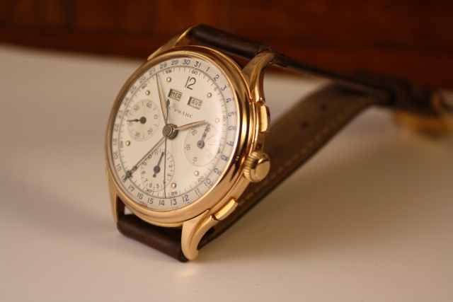 rare 37mm chronograph rose gold
