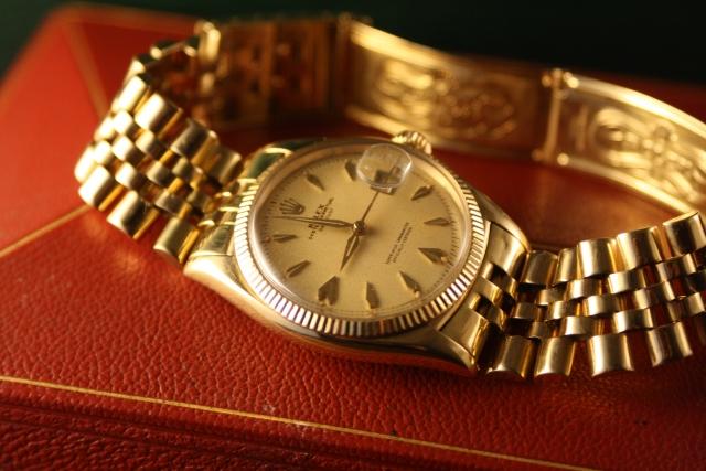 vintage rolex datejust 6605
