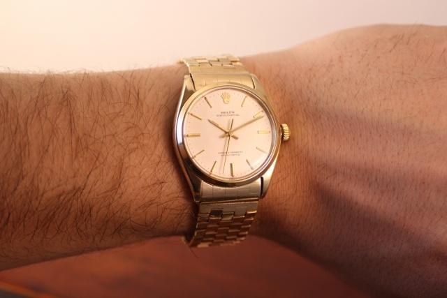 Rolex 1005 brick bracelet