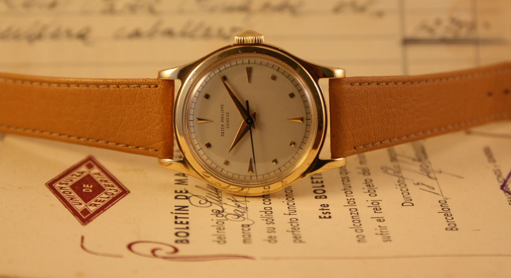 Patek Philippe gold dress watches