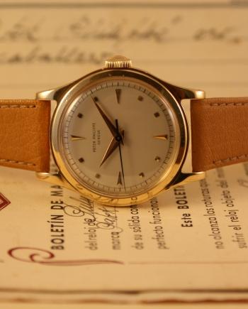 Patek Philippe gold dress watches