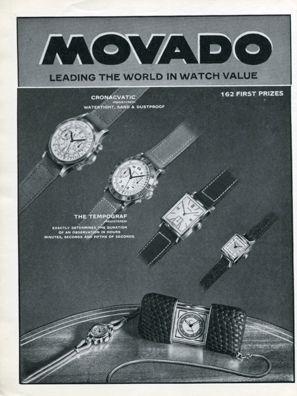 movado brochure prices