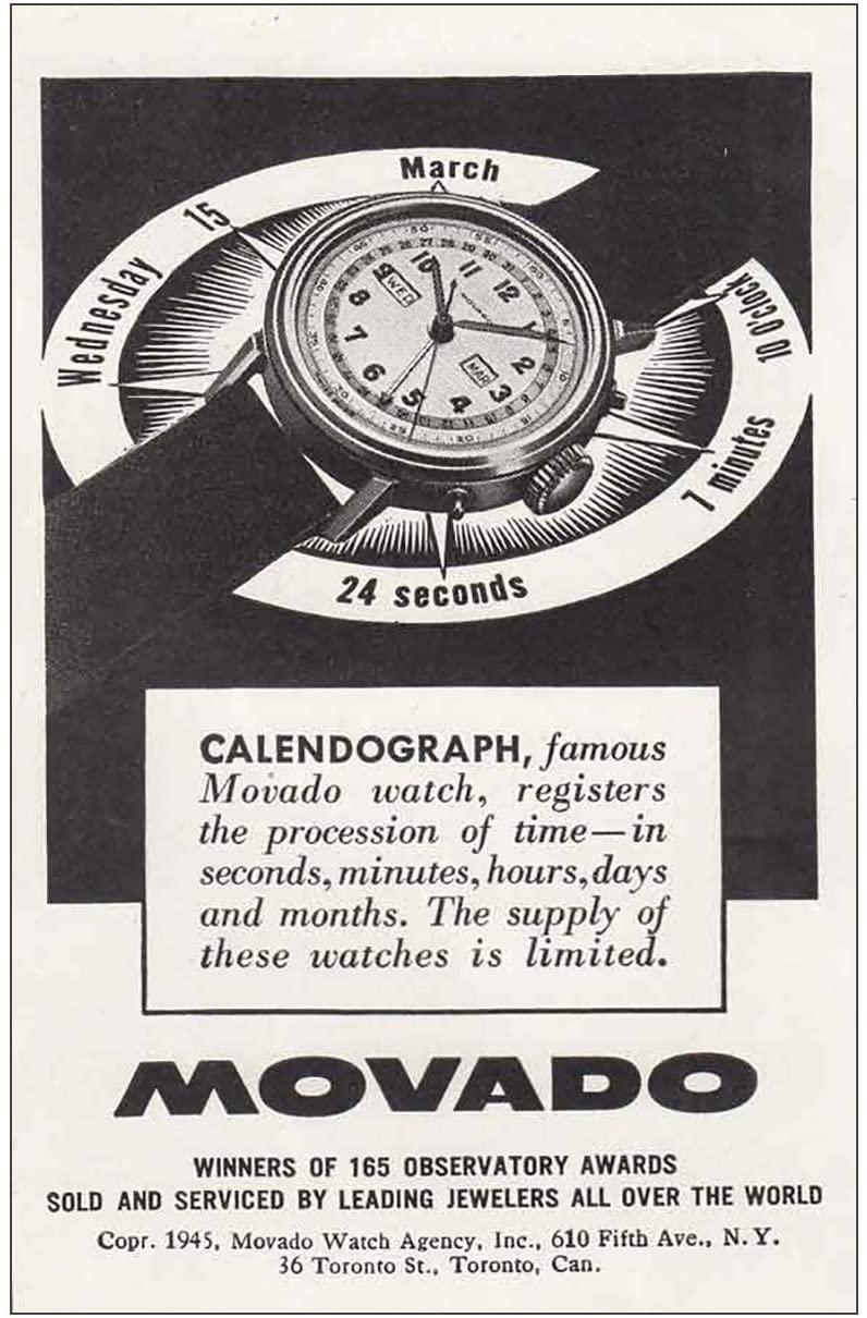 movado value vintage