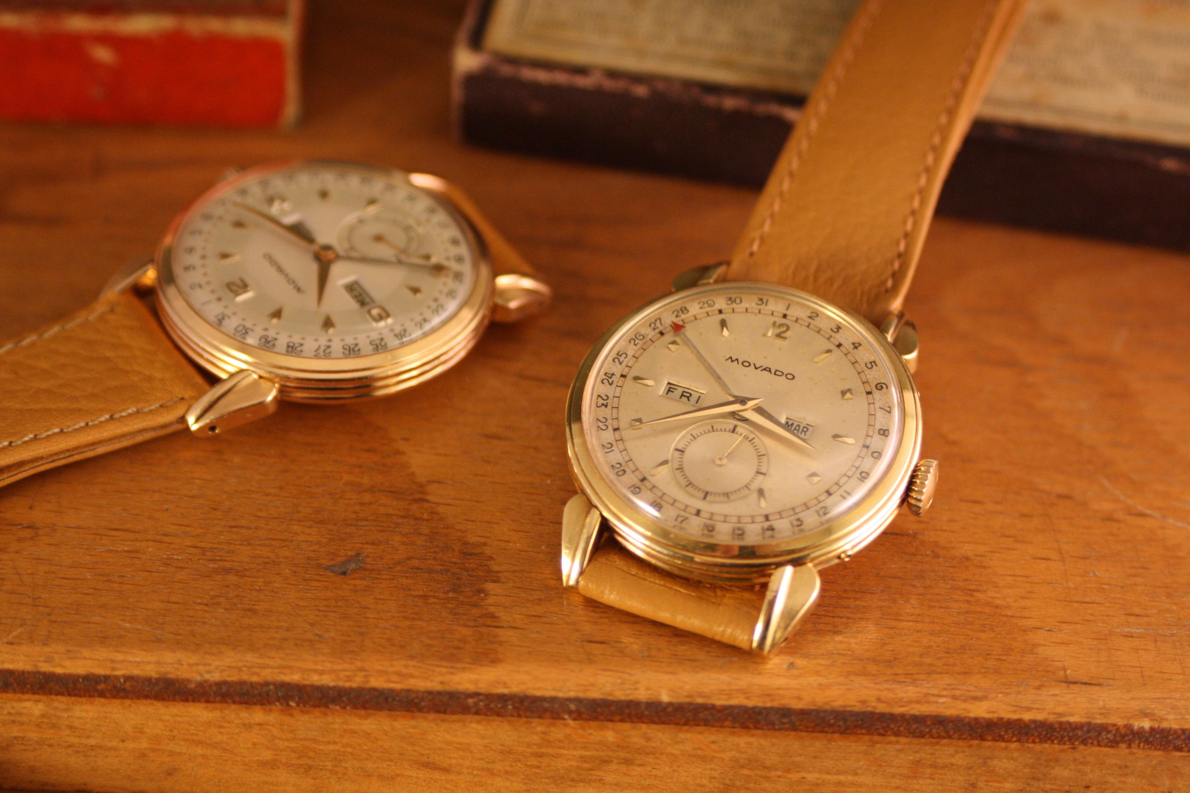 movado wristwatch history
