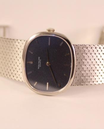 patek oval ellipse vintage watch