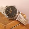 triple date calendar wristwatch