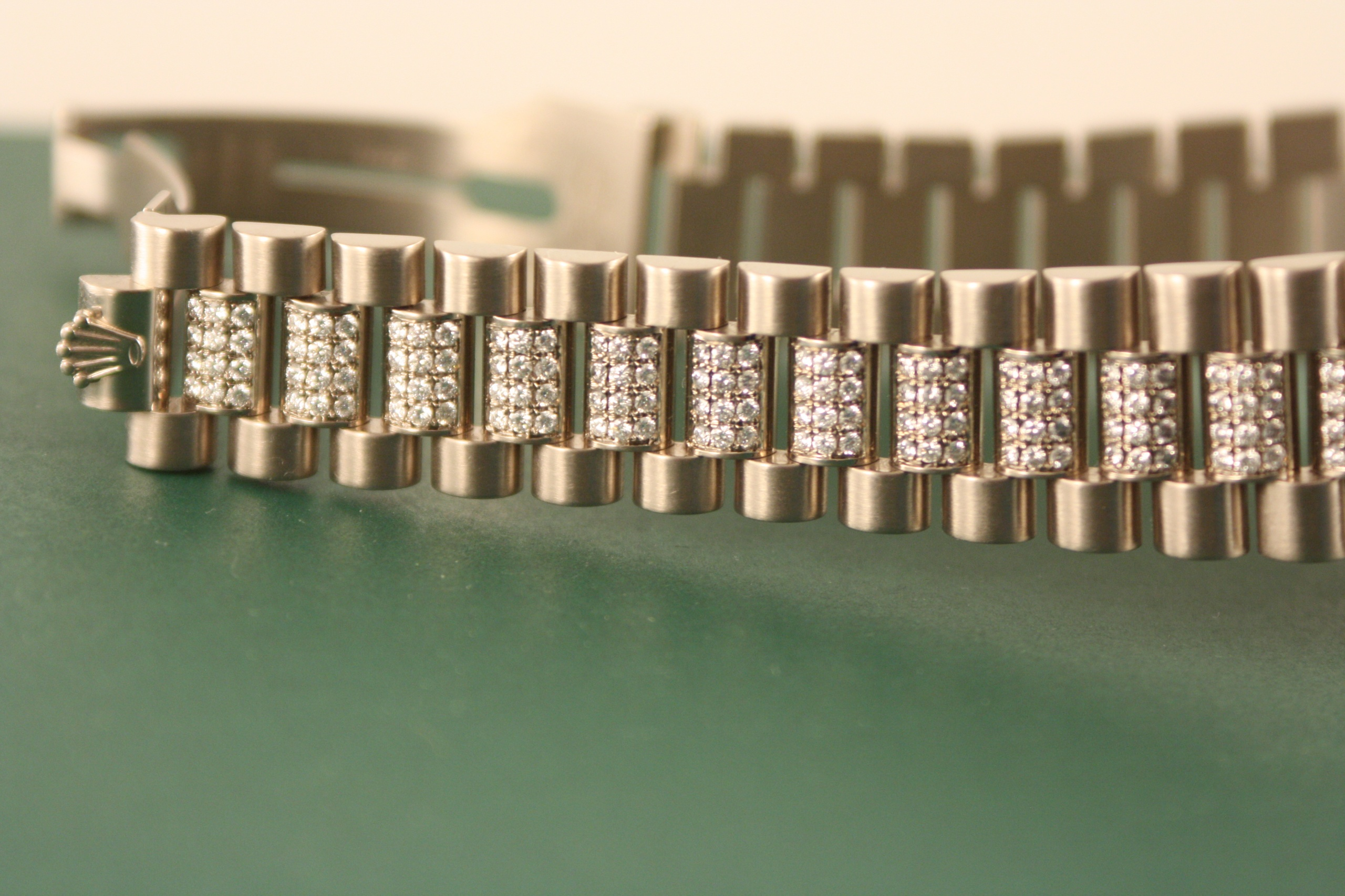 diamond rolex president bracelet