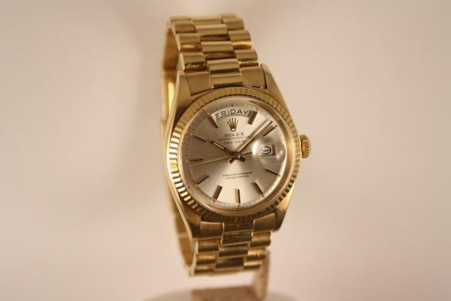 rolex day date horloge