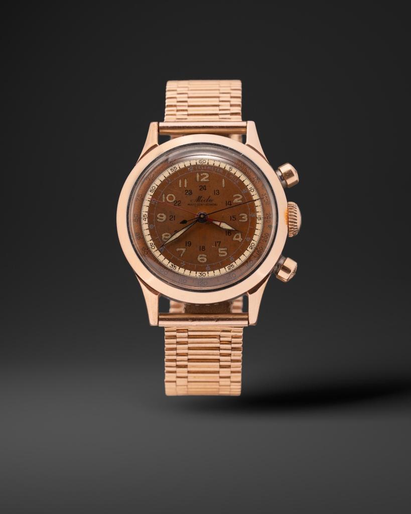 mido chronograph watch
