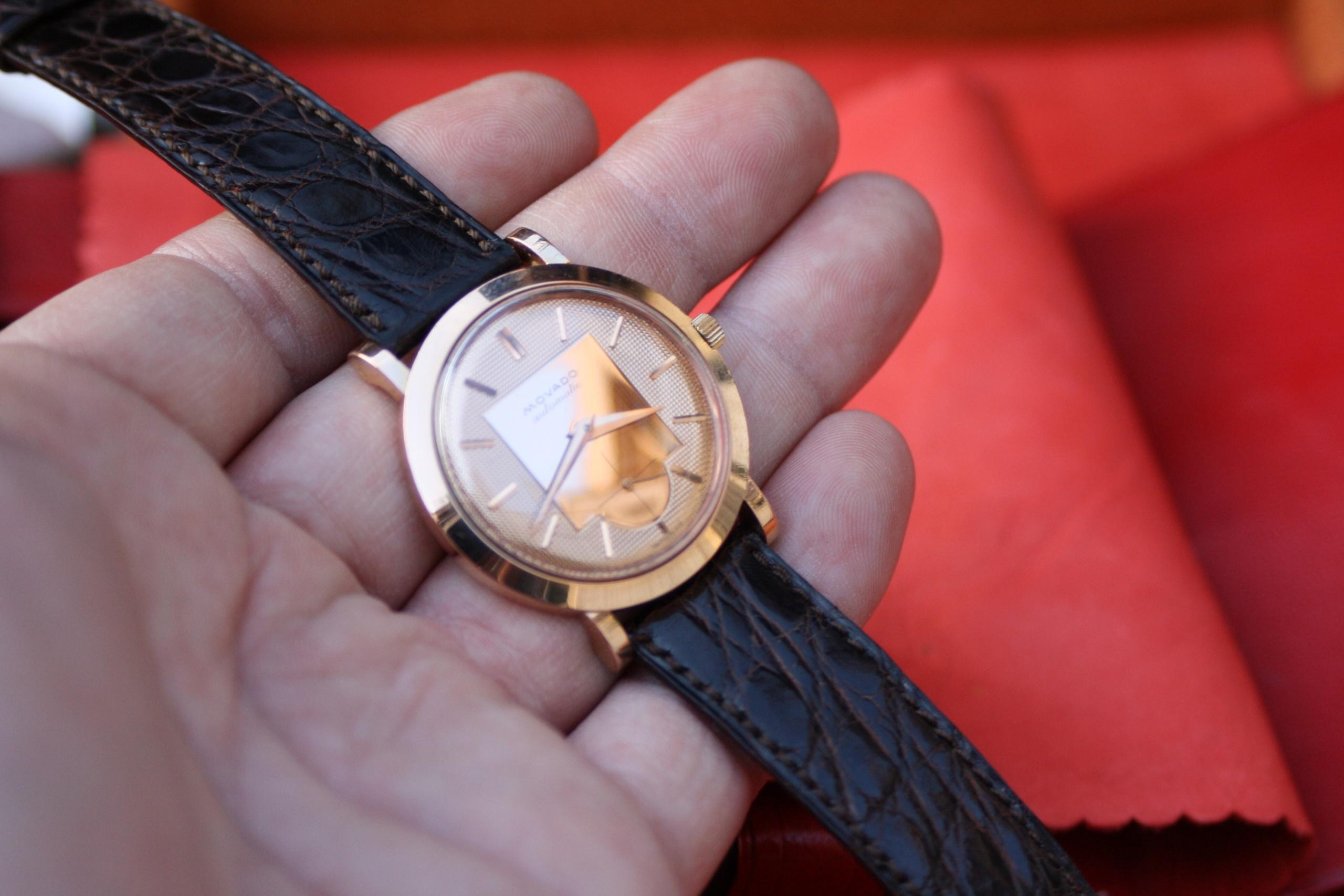 Rare Movado wristwatch