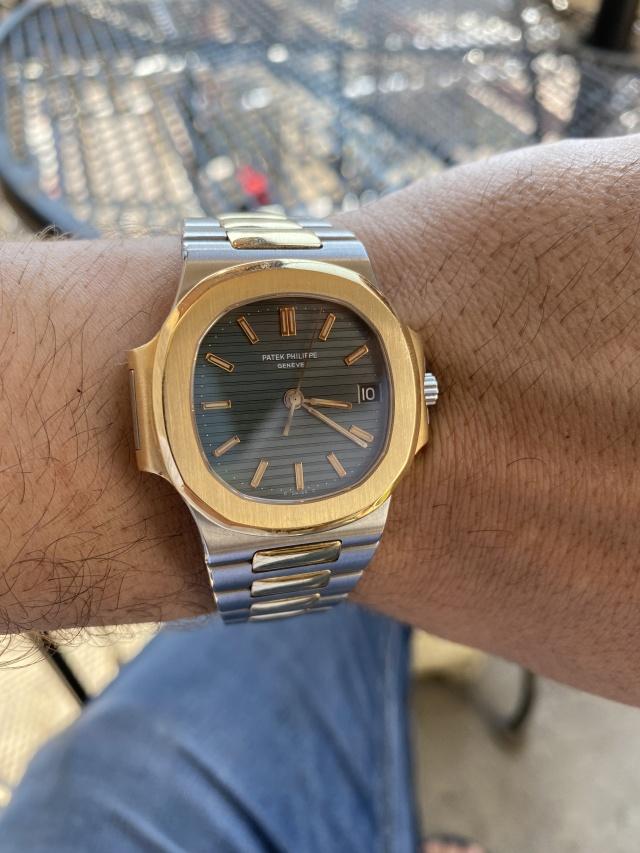 wristshot patek nautilus horloge