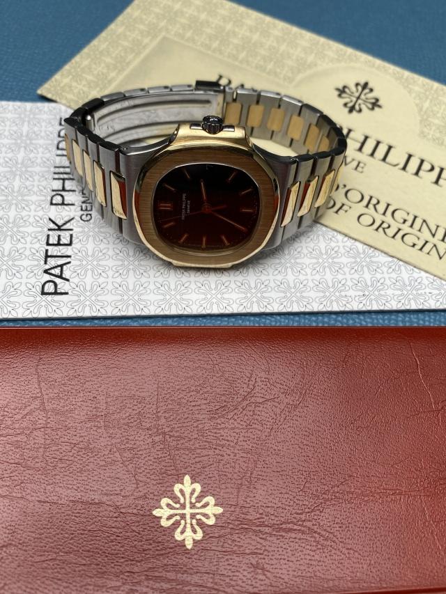 patek nautilus vintage with papers