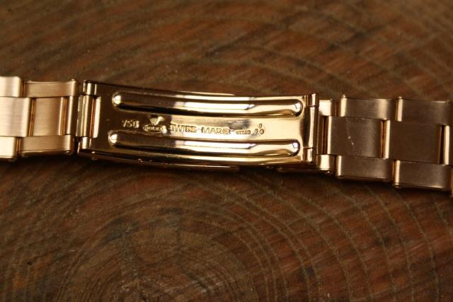 mecan signed rolex bracelet