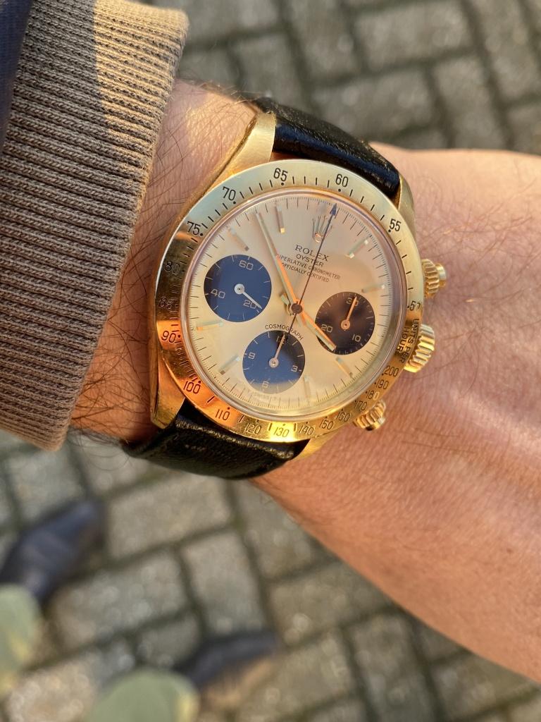 wristshot rolex 6265