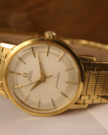 Rare Omega Yellow Gold